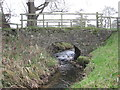 SJ6264 : Bridge over the Poolstead Brook at Fennywood Farm by Dr Duncan Pepper