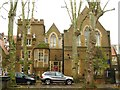 TQ2579 : St. Mary Abbots C of E Primary School, Kensington Church Court, W8 by Mike Quinn