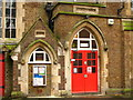 TQ2579 : Entrance to St. Mary Abbots C of E Primary School, Kensington Church Court, W8 by Mike Quinn