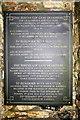 SW6838 : Pencoys third memorial slate by Elizabeth Scott
