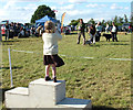 TL9560 : Dog show on Drinkstone playing field by John Goldsmith