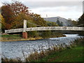 NT2540 : Footbridge over the River Tweed, Peebles by David Purchase
