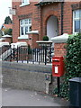 SK6132 : Plumtree Post Office postbox ref NG12 193 by Alan Murray-Rust