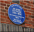 Photo of Henry Pottinger blue plaque