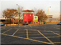 SJ9594 : Morrisons Supermarket, Hyde by David Dixon