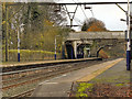 SJ9993 : Broadbottom Railway Station by David Dixon
