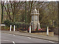 SJ9893 : Broadbottom War Memorial, Mottram Road by David Dixon