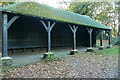 SU9484 : Barn in Burnham Beeches by Graham Horn