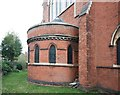 TQ2973 : St Thomas, Telford Avenue, Telford Park - Baptistery by John Salmon