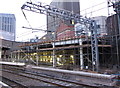 SP0686 : Rebuilding of Platform 12 at Birmingham New Street station by Gareth James