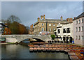 TL4458 : River Cam and Silver Street Bridge, Cambridge : Week 46
