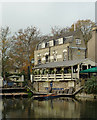 TL4457 : The Granta in Newnham Road, Cambridge by Roger  Kidd