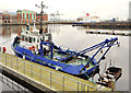 "J3474 : The tug ""Otterbank"" at Belfast by Albert Bridge"