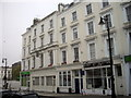 TQ2878 : Shops and converted pub in Sussex Street, Pimlico by PAUL FARMER