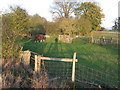 TL8002 : Footpath crossing paddock at Wickham's Farm by Roger Jones