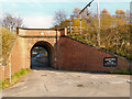 SJ9694 : Godley Hill Arch by David Dixon