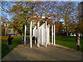 TQ2880 : London Bombings Memorial, Hyde Park by Ian Yarham