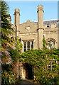 TL4457 : Gisborne Court and Noah's Ark at Peterhouse, Cambridge by Roger  Kidd