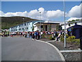 NG4743 : Start of 2011 Skye Half Marathon at Portree High School by Douglas Nelson