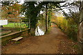 TQ0431 : Towpath by Brewhurst Lock by Graham Horn
