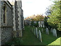 TQ4110 : All Saints', Lewes: churchyard (III) by Basher Eyre