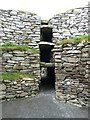 HU4640 : Clickimin Broch - View inside by Rob Farrow