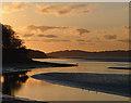 SD4578 : November evening, the River Kent off Ash Meadow : Week 47