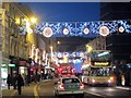 TQ3104 : North Street Christmas lights by Oast House Archive