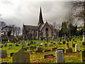 SD9804 : Christ Church & Graveyard by David Dixon