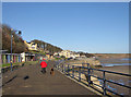 TA1180 : Filey promenade by Pauline Eccles