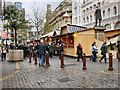 SJ8398 : St Ann's Square, Christmas Markets by David Dixon