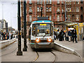 SJ8397 : Metrolink, St Peter's Square by David Dixon