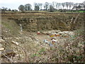 SE1332 : A Quarry on Deep Lane, Clayton by Ian S