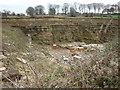 SE1332 : A Quarry on Deep Lane, Clayton by Ian S