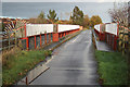 SK6057 : Mansfield Road bridge by Richard Croft
