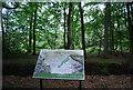 SU7926 : Information Board, Rake Hanger by N Chadwick