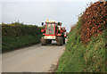 SX2261 : Farm Equipment on the Dobwalls to Looe road by roger geach