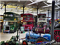 SD8010 : Inside Bury Transport Museum by David Dixon