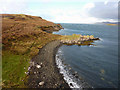 NG3555 : Beach north of Dun na h'Airde, Greshornish by Phil Champion