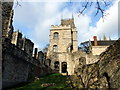 SK9771 : Alnwick Tower at Lincoln Medieval Bishops' Palace by PAUL FARMER