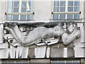 TQ2979 : Bas relief sculpture on 55 Broadway, SW1 (4) by Mike Quinn
