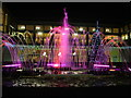 TL8564 : Dancing fountains in front of The Apex by John Goldsmith