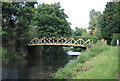 TQ0152 : Footbridge, Wey Navigation by N Chadwick