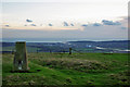 TQ4405 : Trig point with a view by Robin Webster