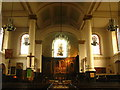 TQ3579 : St. Mary's Church, Rotherhithe - nave by Mike Quinn