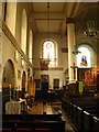 TQ3579 : St. Mary's Church, Rotherhithe - north aisle by Mike Quinn