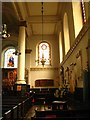 TQ3579 : St. Mary's Church, Rotherhithe - south aisle by Mike Quinn