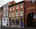 SO8555 : The former Golden Hart, 6 Sansome Street, Worcester by P L Chadwick