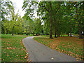 TQ2880 : Walkway in Green Park by John Allan