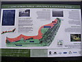 TM2345 : Information Board on the Sandlings Walk footpath by Adrian Cable